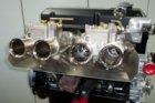Hitzeschutz Abschirmung Doppelvergaser